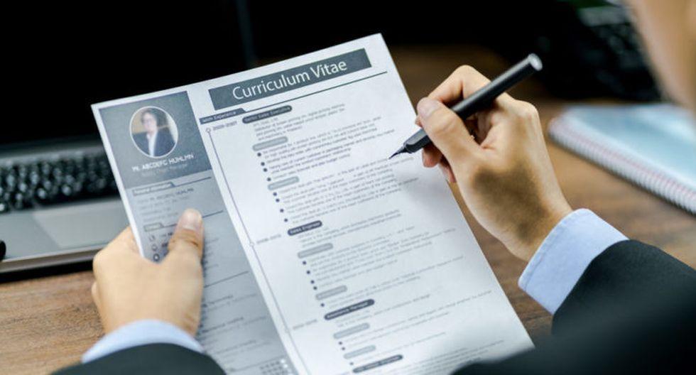 El CV es un documento que presenta las habilidades, formación y experiencia laboral de una persona, con el fin de optar a un puesto de trabajo. (Foto: difusión).