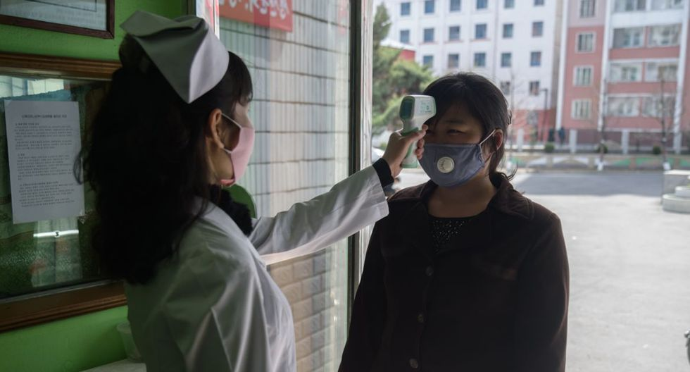 FOTO 1 | Corea del Norte El férreo régimen norcoreano es uno de los países que todavía no ha reportado ni un solo caso de coronavirus. En este sentido, su aislamiento internacional le ha podido beneficiar. (Photo by KIM WON JIN/AFP via Getty Images)