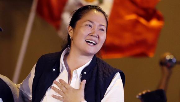 Keiko Fujimori salió de la cárcel el pasado 29 de noviembre, luego de que el Tribunal Constitucional aceptara hábeas corpus. (Foto: EFE)