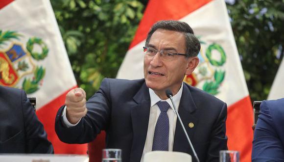 El presidente Martín Vizcarra dijo que enviarán los proyectos del Ejecutivo a los partidos políticos para que se pronuncien sobre ellos en campaña. (Foto: GEC)