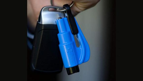 Resqme fue diseñada por personal de salvamento especializado en liberar y rescatar a personas que quedan atrapadas en vehículos. (Foto: Resqme)