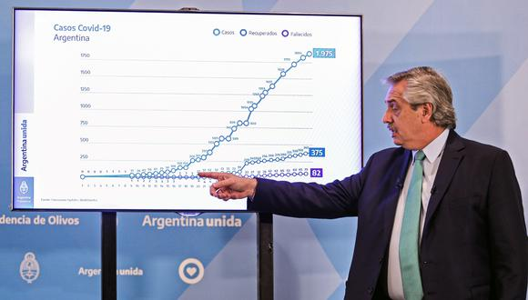 """El FMI tiene una """"gran esperanza"""" de que Argentina logre reestructurar su deuda de manera """"exitosa"""" y retomar así una senda de crecimiento. (Foto: AFP)"""