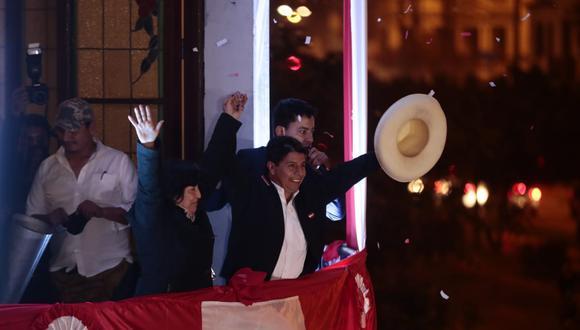 La ONPE informó que al 100% de actas contabilizadas de la segunda vuelta, Pedro Castillo superó por 44,263 votos a su contendora de Fuerza Popular, Keiko Fujimori. (Foto: GEC)