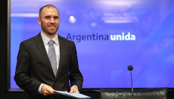 Martín Guzmán, ministro de Economía de Argentina. (Foto: EFE)