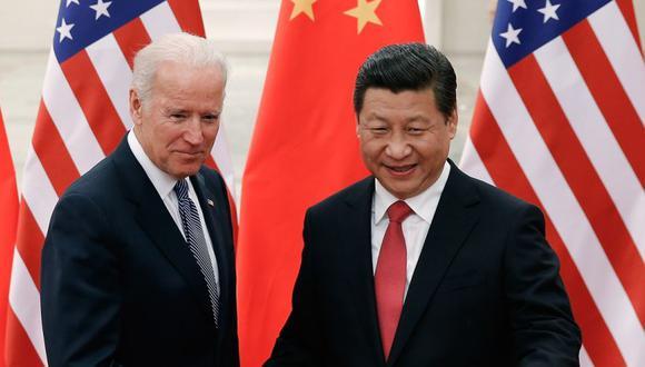 En Cornualles (Reino Unido), Biden venderá a sus aliados el relato de dos bloques que ya esbozó en febrero, durante la Conferencia de Seguridad de Múnich. (AFP PHOTO / POOL CHINA-US-DIPLOMACY).