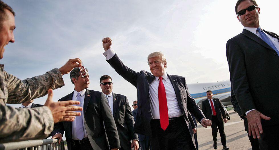 Lo bueno para los republicanos es que los procedimientos de juicio político apenas han alterado la popularidad de Trump, a pesar de un flujo constante de historias aparentemente negativas sobre él. (Foto: Reuters)