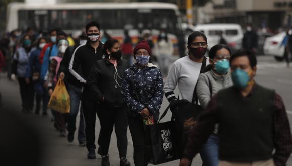 La cifra de contagios por el nuevo coronavirus se incrementó en el país. (Foto: GEC)