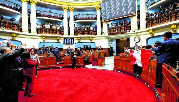 La inmunidad parlamentaria que gozan los 130 excongresistas finalizan mañana, por lo que los exlegisladores, en algunos casos, no tendrán ninguna protección.