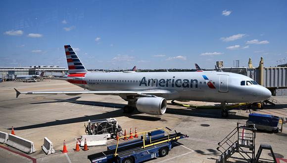 Avión de American Airlines. (Foto: AFP)