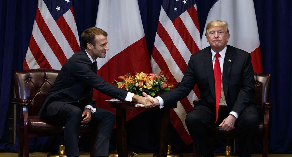 """Francia exhortó a Estados Unidos que durante ese """"periodo de discusiones"""" no imponga ninguna sanción a París. (Foto: AP)"""
