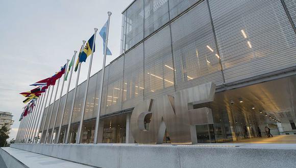 Foto: sede del Banco de Desarrollo de América Latina / CAF / Montevideo