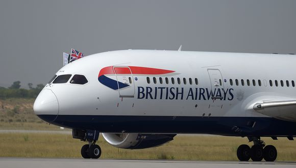 IAG es propietaria de British Airways, Iberia, Vueling, Aer Lingus y Level. (Foto: AFP)