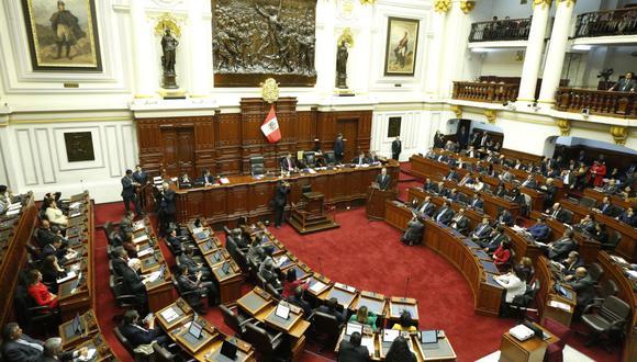 Congreso de la República. Debate de la cuestión de confianza. (Foto: PCM)