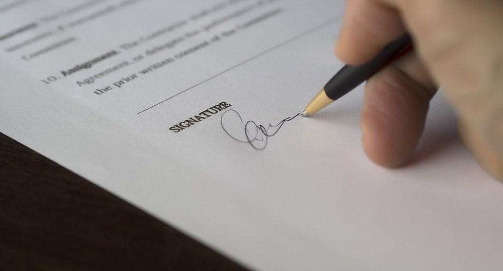Una carta de renuncia debe ser clara, concisa y cordial (Foto: Pixabay)