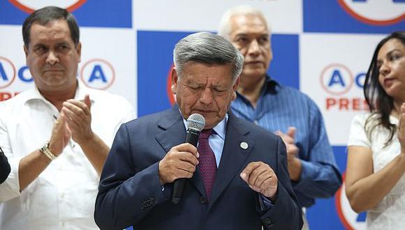 Alianza había sido anunciada el pasado 12 de octubre por el líder de APP, César Acuña. (Foto: GEC)