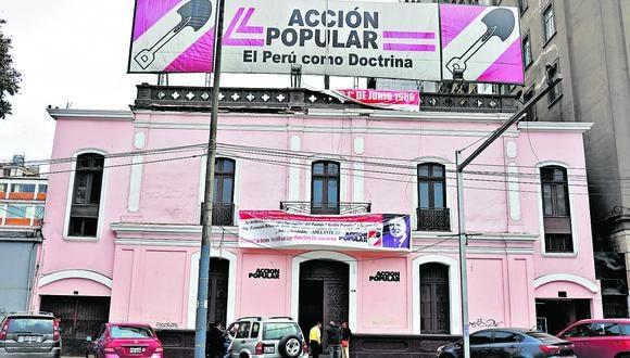 Acción Popular dividido por posiciones sobre una auditoría a la Organización Estados Americanos (OEA) de la segunda vuelta presidencial (Foto: Juan Ponce)