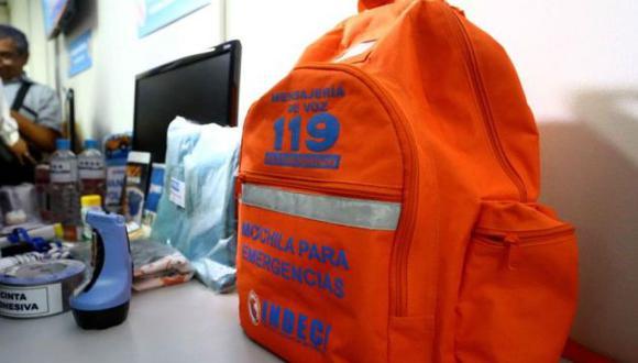 Las familias podrán prepararse y repasar cómo actuar ante un sismo o cualquier otro peligro. (Foto: GEC)