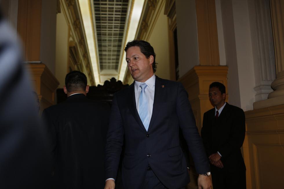 Daniel Salaverry tomó la decisión de renunciar ante la moción de censura que presentaron los fujimoristas. (Foto: GEC)