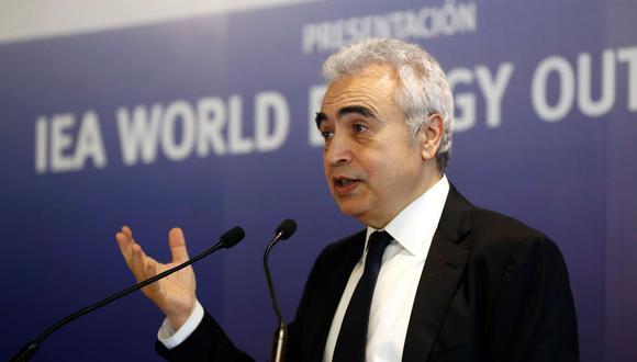El director general de la Agencia Internacional de la Energía (AIE), Fatih Birol. (Foto: EFE/Zipi)