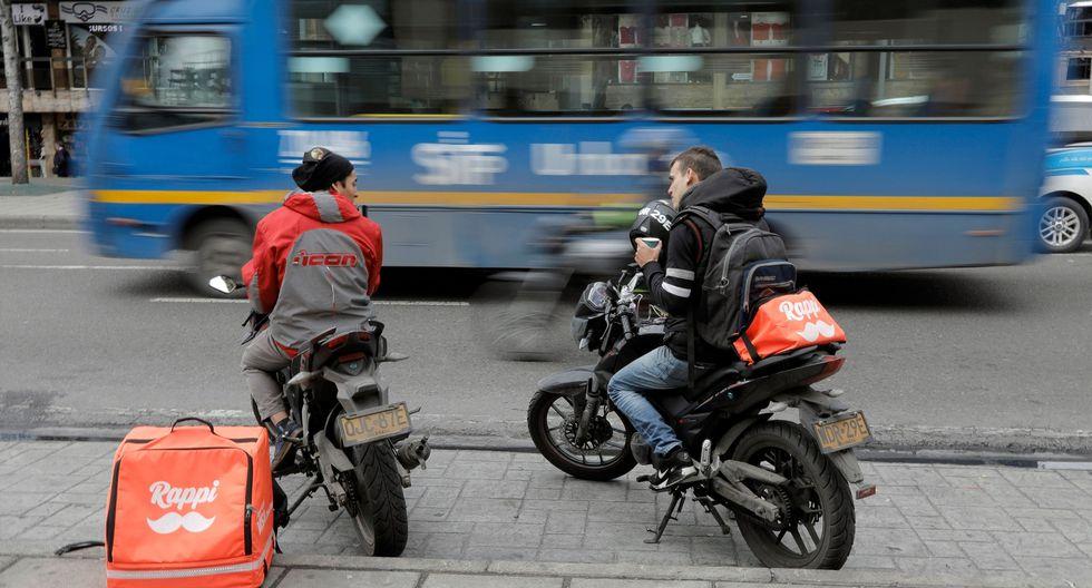 Empresas como Rappi y Glovo impulsaron el negocio de las motos. (Foto: AFP)