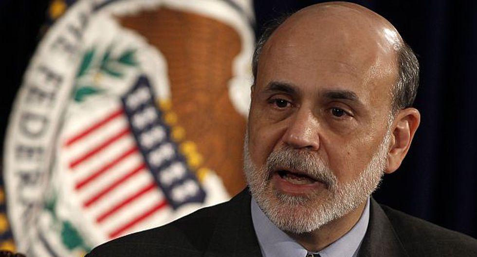 Ben Bernanke, ex presidente de la Reserva Federal (FED) de EEUU. (Reuters)