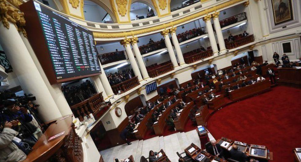 Este martes 3 de setiembre el Congreso de la República tiene previsto realizar un Pleno ético. (Foto: GEC)