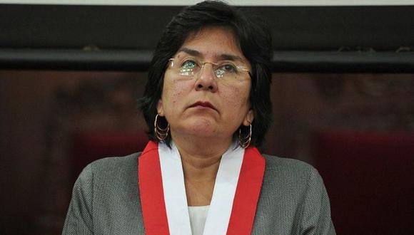 Marianella Ledesma criticó que se haya llevado a cabo la juramentación de los nuevos miembros de la Junta Nacional de Justicia. (Foto: GEC)