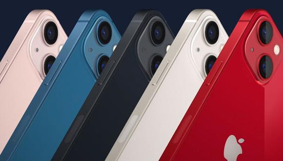 Conoce qué celular comprar: el iPhone 12 o iPhone 13. (Foto: Apple)