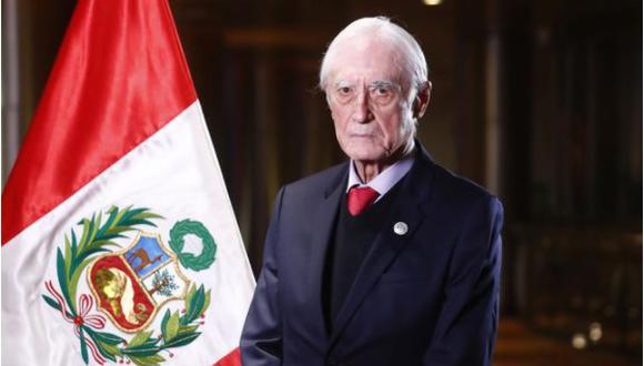 Héctor Béjar es el canciller del gabinete que lidera Guido Bellido. (Foto: Difusión)