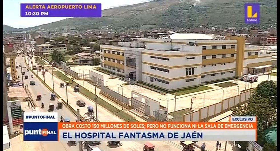 El nuevo hospital de Jaén no atiende emergencias. (Captura: Latina)