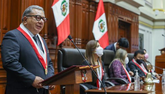 """El congresista Carlos Anderson indicó que este es un gabinete """"fallido"""".  (Foto: Congreso de la República)"""