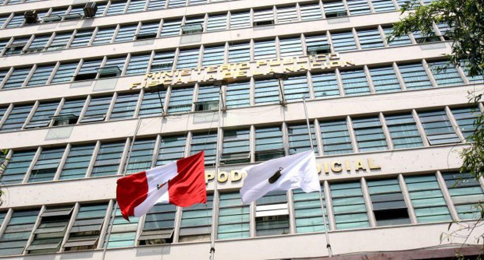 Fiscalía allana oficinas de la Corte Superior de Justicia de Lima. (Foto: GEC)