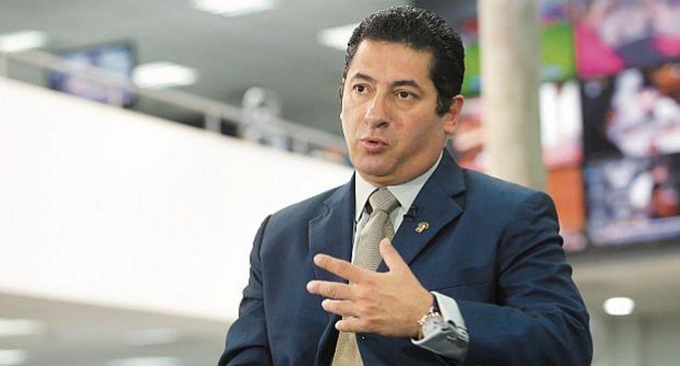 Salvador Heresi, ministro de Justicia. (Foto: USI)