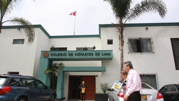 Positivo. Norma promulgada beneficiará a los usuarios de productos   de entidades financieras, dijo el decano de Colegio de Notarios de Lima.