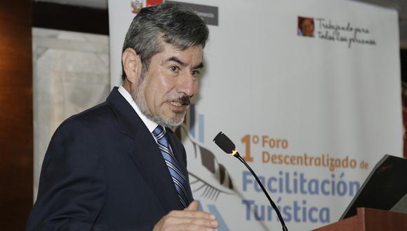 El ministro Roger Valencia inauguró el 1° Foro Descentralizado de Facilitación Turística en el Cusco. (Foto: Difusión)