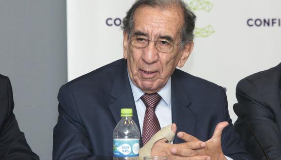 Óscar Rivera, expresidente de Asbanc. (Foto: GEC)