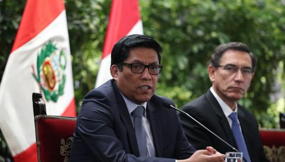 Vicente Zeballos aseguró que darán explicaciones de los DU al nuevo Congreso. (Foto: PCM)