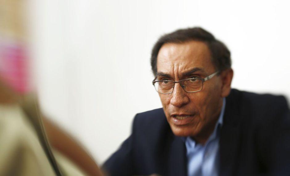 Martín Vizcarra, presidente de la República. (Foto: USI)
