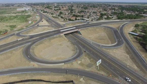 La vía de Trujillo - Sullana realizó una inversión de US$ 17.8 millones a junio, informó Ositran. (Foto referencial: MTC)