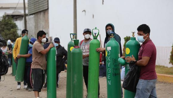 Oxígeno adquirido es líquido y no gaseoso como el que se distribuye a través de tanques. (Foto: GEC)
