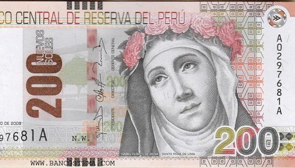 Para diferenciar un billete falso de uno autentico debes seguir tres pasos: tocar, mirar y girar  (Foto: BCR)