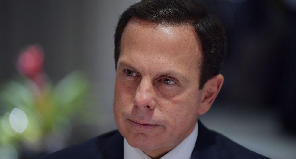 El gobernador del estado brasileño de Sao Paulo, Joao Doria, prorrogó hasta el próximo 22 de abril la cuarentena decretada hace dos semanas. (Foto: AFP).