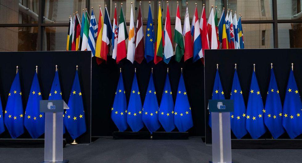 Desde hace varios días, algunos Estados europeos, como España, Francia e Italia, presionan a Alemania, Austria, Holanda y Finlandia para que cambien su postura sobre esta cuestión, y piden que se mutualicen ciertas deudas para hacer frente a la crisis. (Foto: AFP)