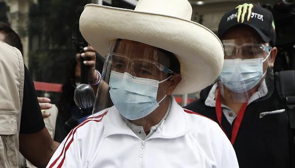 Pedro Castillo, candidato presidencial de Perú Libre, había sido denunciado ante el Ministerio Público por la excongresista Yeni Vilcatoma. (Foto: GEC)
