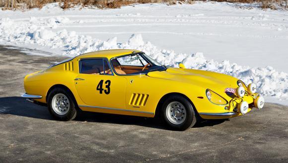 Ferrari. (Foto: Brian Henniker/Gooding & Company)