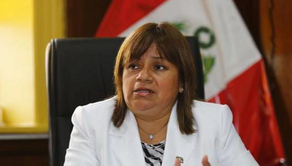 Zulema Tomás había ejercido como ministra de Salud desde el 7 de enero de este año. (Foto: GEC)