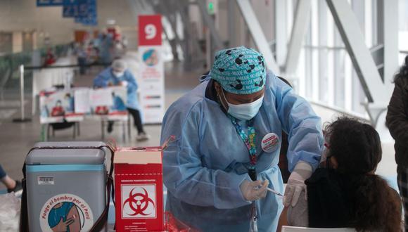 El proceso de vacunación se desarrolla en todo el país. (Foto: GEC/ Eduardo Cavero)