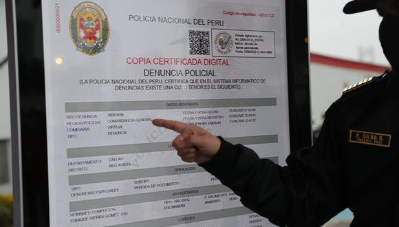 El servicio de denuncia digital es gratuito y se puede acceder a la plataforma desde cualquier dispositivo. (Foto: Andina)