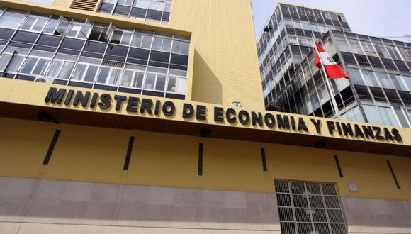 Ministerio de Economía y Finanzas (MEF). (Foto: Andina)