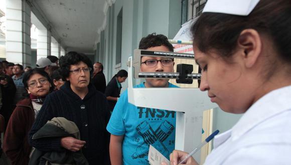 Todo peruano sin seguro de salud será afiliado al SIS, independientemente de su clasificación socioeconómica. (Foto: Andina)